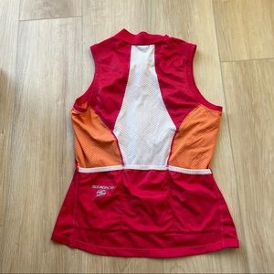 SUGOI cycling jersey vest women's small